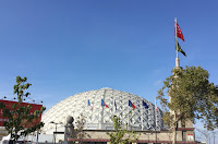 Pic of the Palais des Sports' dome from the outside