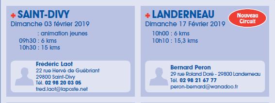 Calendrier Des Courses 2019.Challenge De L Elorn Le Calendrier Des Courses 2019