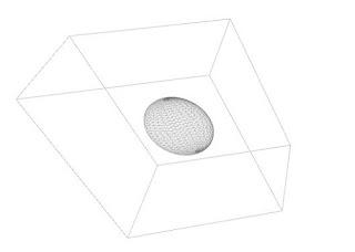 Cara Membuat Objek Bola Berada Didalam Kubus Dengan Processing