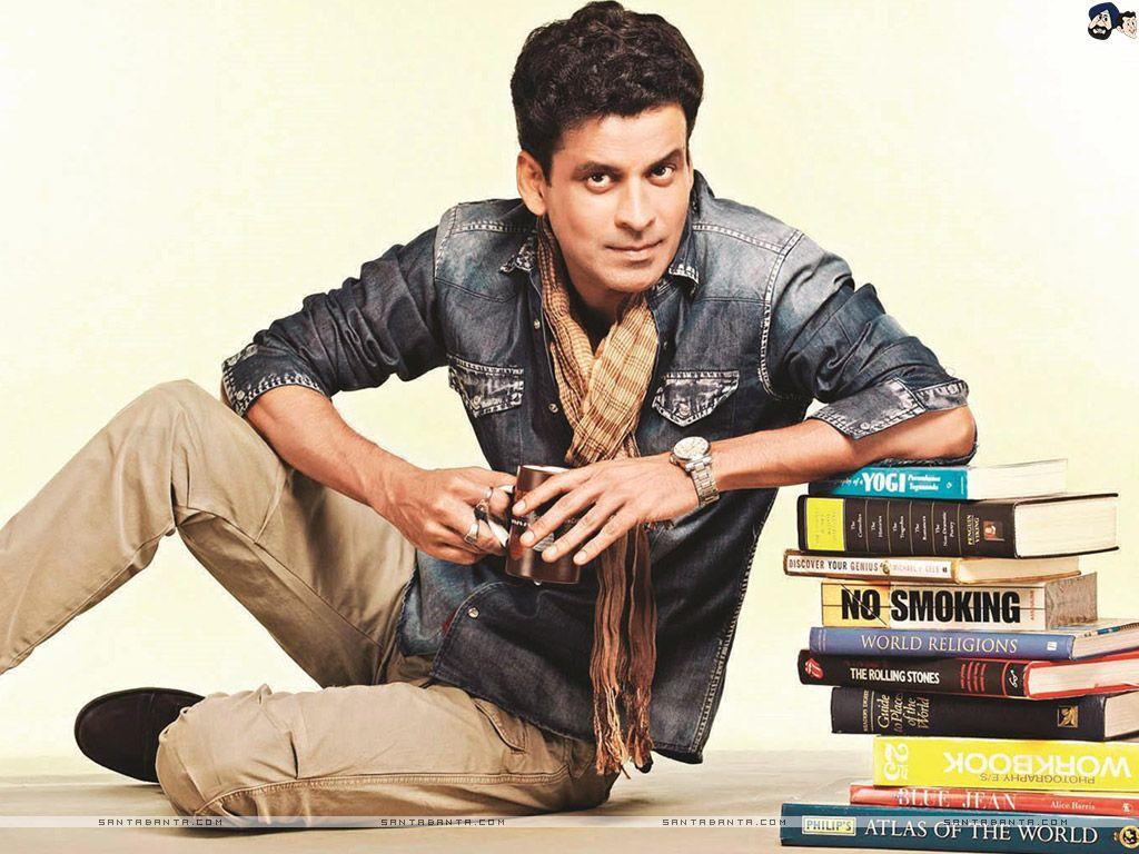 Manoj Bajpayee with books