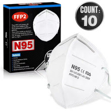 Buy N95 Mask 5-Layer PM2.5 Dustproof Protective 95%