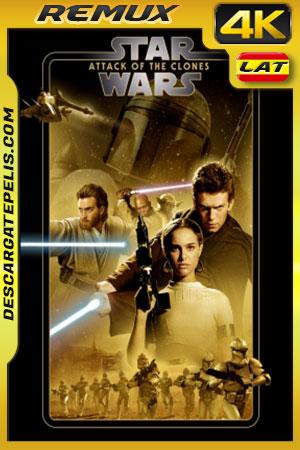 Star Wars Episodio II: El ataque de los clones (2002) 4K BDRemux Latino – Ingles