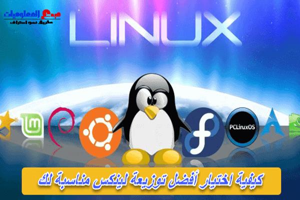 دليل شامل حول كيفية اختيار أفضل توزيعة Linux للمبتدئين