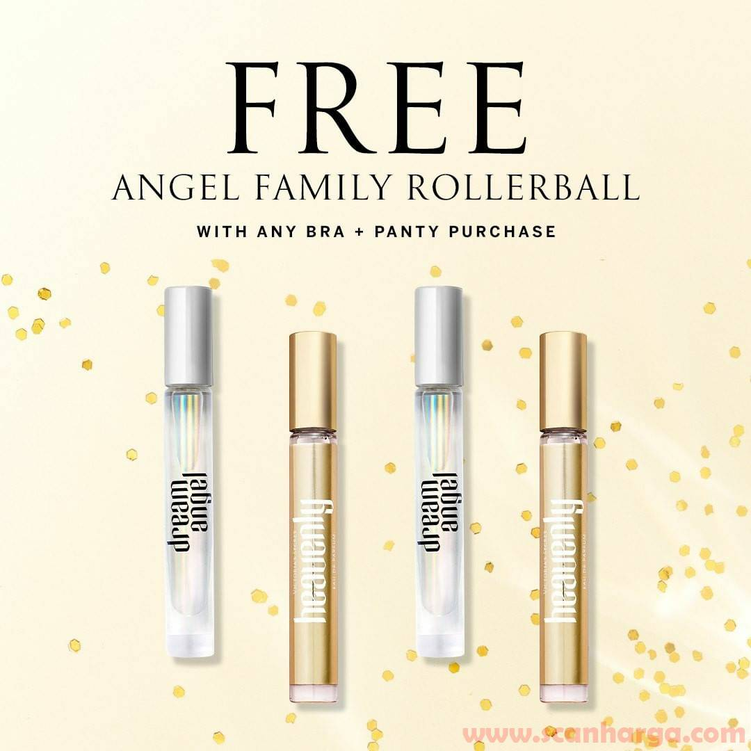 Promo Victoria's Secret FREE Angel Family Rollerball [with any Bra + Panty Purchase]