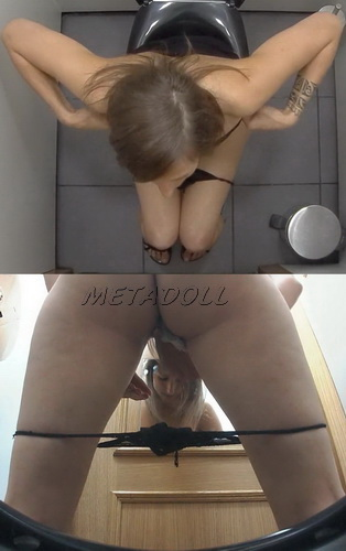 Toilet Czech 22 (Charming girls pissing in spy camera)
