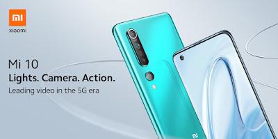 Xiaomi เปิดตัว Mi 10 ในไทย เผยโฉมสมาร์ทโฟนเรือธงที่โดดเด่นด้านการถ่ายวิดีโอและรองรับนวัตกรรม 5G เริ่มจำหน่าย 8 พฤษภาคม 2563 ในราคาเริ่มต้น 27,999 บาท