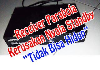 Receiver Parabola Protek (Nyala standby)