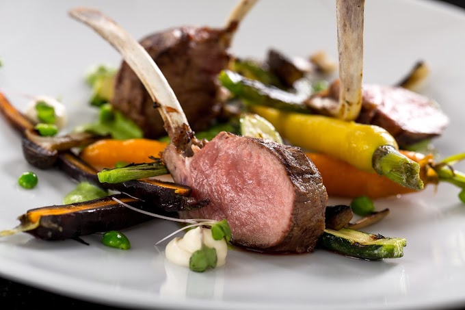 Sous Vide Lamb Chops with Rosemary