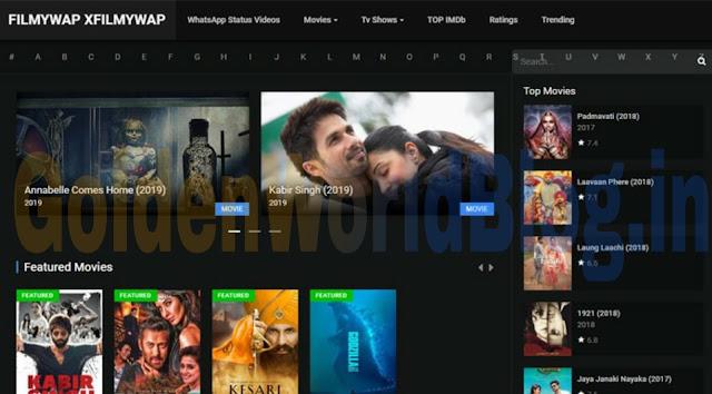 Filmywap 2020 - afilmywap 300MB Bollywood Movies Download HD