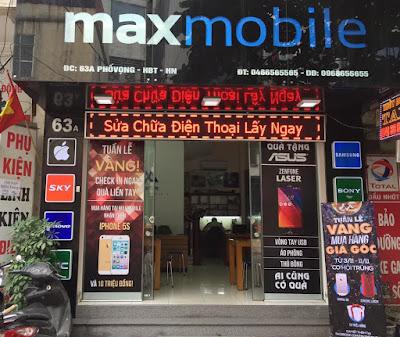 MaxMobile cửa hàng sửa chữa màn hình htc j one uy tín