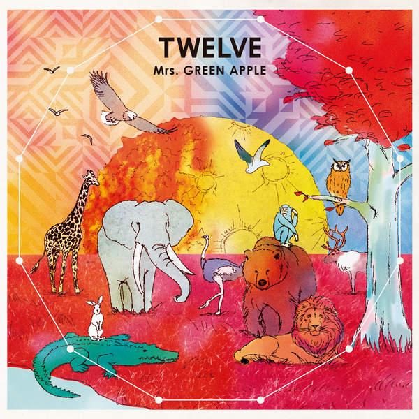 [Album] Mrs. GREEN APPLE – TWELVE (2016.01.13/MP3/RAR)