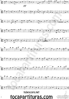 2 Partituras de Vino Griego en Clave de  Do en 3º Línea para Viola Sheet Music for Viola in C Clef Music Scores