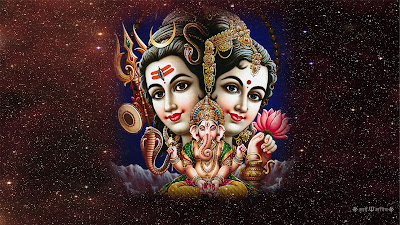 Shiv Sankar & Parwati HD Wallpaper