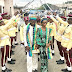 (PHOTOSPEAK) Wonderful: See LASTMA Officer Who Lost His Sight In Active Service Get Married In Lagos
