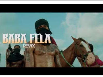 [Video]Mr Real Ft. Zlatan, Laycon – BABA FELA (Remix)