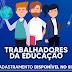 VACINA: Cadastro para trabalhadores da Educação