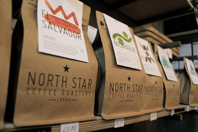North Star Coffee bags