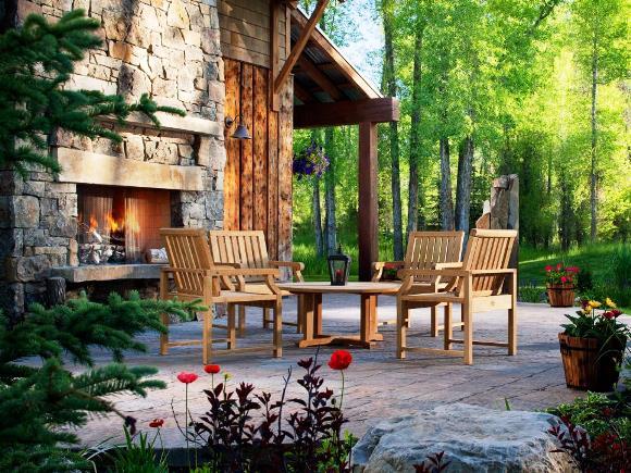 Ruang Luar atau Ruang Outdoor