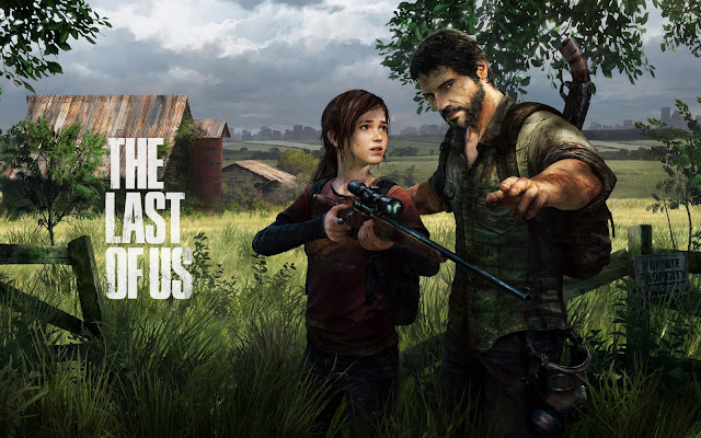 wallpaper backgrounds ellie joel in the last of us
