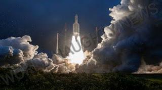 GSAT-30 Satellite Launches, ISRO Launched Satellite