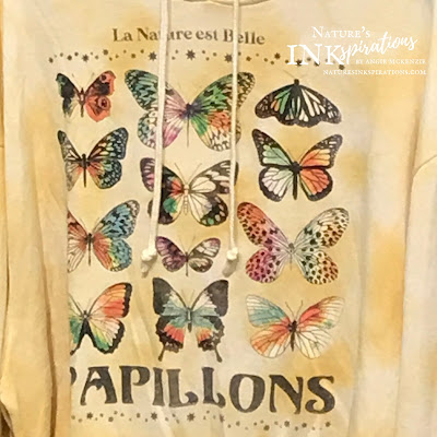 Sweatshirt from Kohl's | Inspiration for Today's Projects | Nature's INKspirations by Angie McKenzie