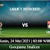 Prediksi Bola Lyon vs Nice 24 Mei 2021