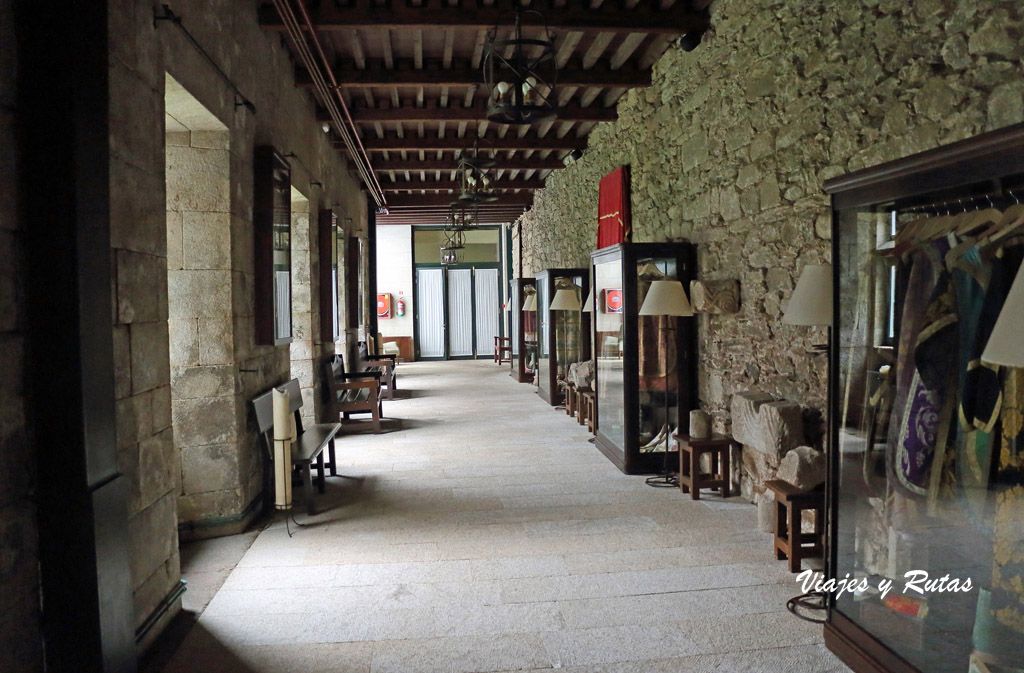 Pasillo del Claustro procesional de Aciveiro