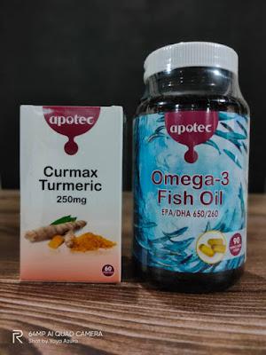 Curmax Turmeric Dan Omega 3 Fish Oil