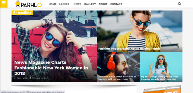 Download FixMag Blogger Template For Free