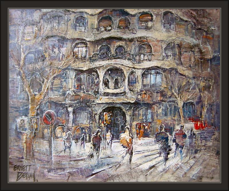 Cuadros ernest descals pinturas - Pintores de barcelona ...