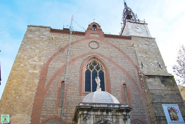 Catedral de San Juan Bautista en Perpignan, Francia