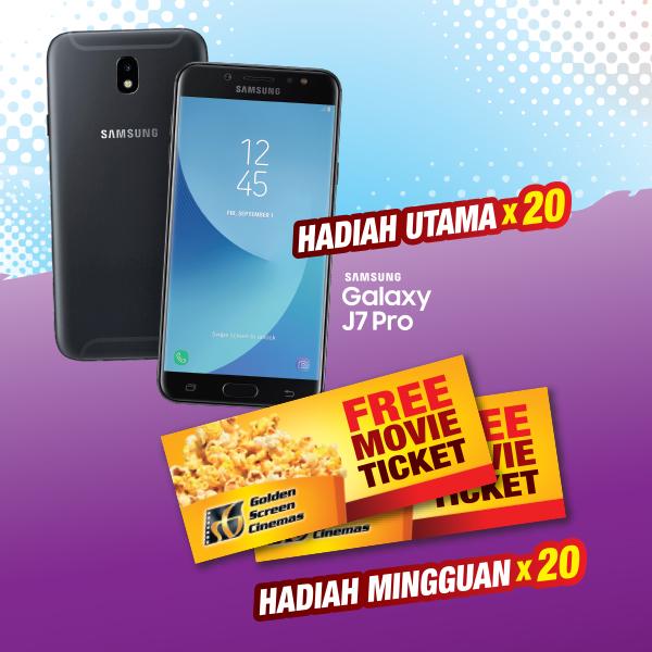 Hadiah Utama Samsung Galaxy J7 Pro