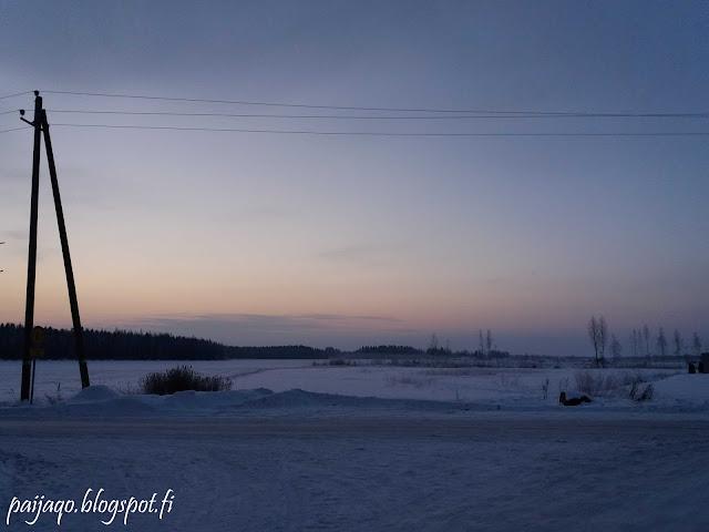 kylmä aamu