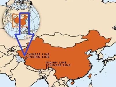 WHO ने लद्दाख को चीन का हिस्सा दिखाया