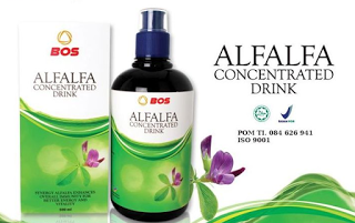 Alfalfa produk program hamil