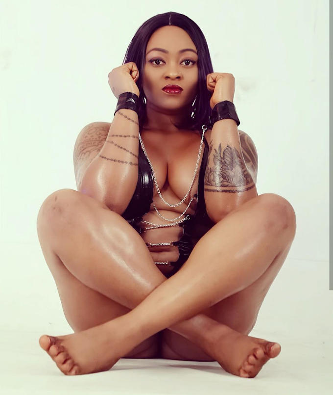 Porn star, 'Ugly Galz' reacts after a follower said he sees her private part for free (video)