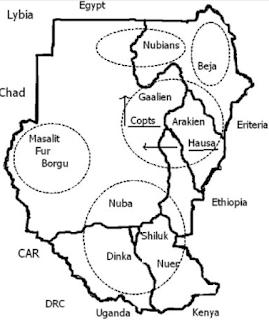 Ethio Helix ኢትዮ:ሒሊክስ: Sudan YDNA