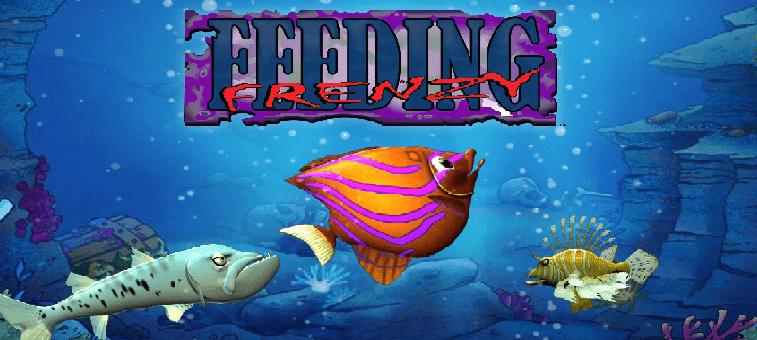 تحميل لعبة السمكة القديمة feeding frenzy للكمبيوتر برابط مباشر مجانا