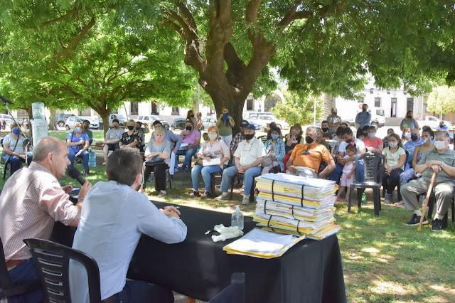 Programa de regularización dominal: se firmaron 59 escrituras en Pehuajó