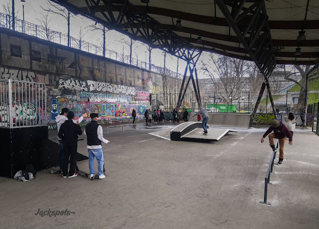 nouveau skatepark paris bercy 2021
