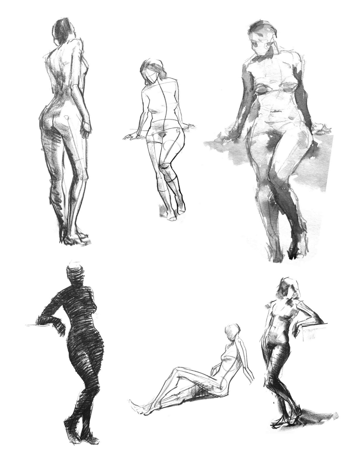 Maxim Grunin Drawing & Painting: Figure Drawing 1
