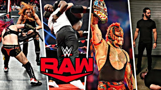 WWE Monday Night Raw 9th December 2019 HDTV