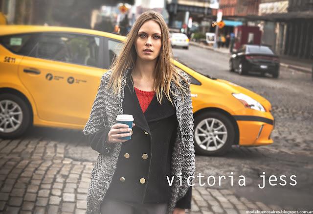 Moda abrigos otoño invierno 2016 Victoria Jess.
