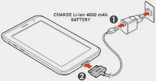 samsung galaxy tablet charging problem