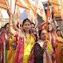 मारवाड़ी समाज ने रानी सती दादी मंदिर की प्रथम स्थापना वर्ष पर निकाली शोभा यात्रा