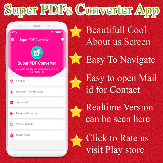 Super PDF Converter Android App - Professional PDF Editor And Creator Ready - 5