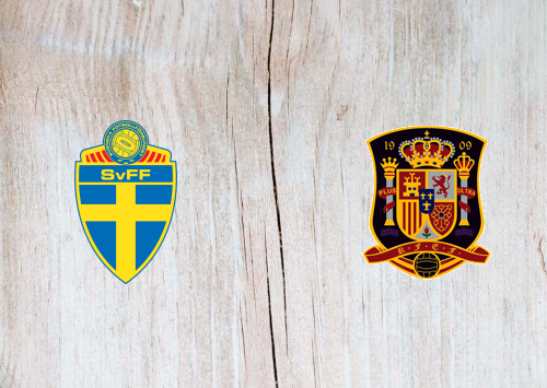 Sweden vs Spain -Highlights 15 October 2019