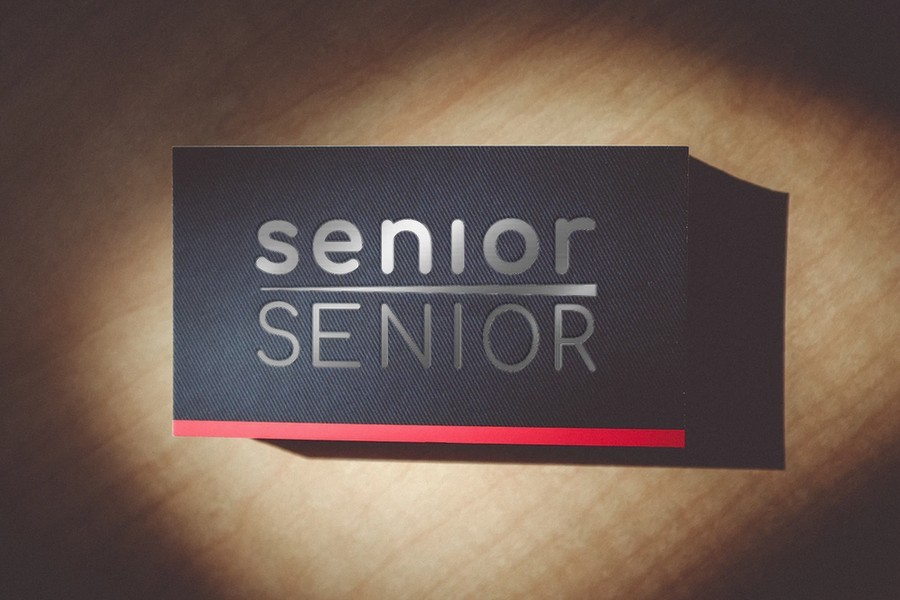 SeniorSenior Mock Card