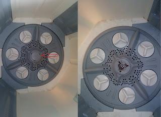 bongkar mesin cuci