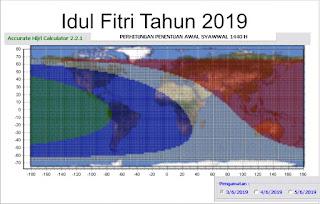 Mengenal 3 Model Penetapan 1 Ramadhan Syawal dan Zulhijah Hikmah 313 : Idul fitri 2019